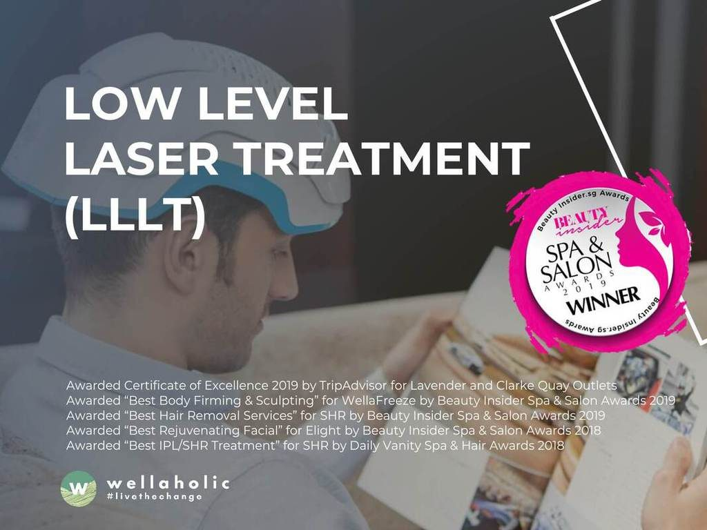 Low Level Laser Treatment LLLT by Wellaholic for Hair Regrowth