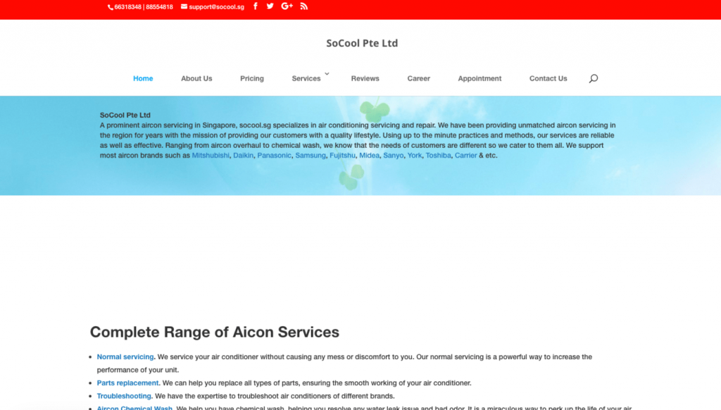 Top 10 Best Aircon Servicing in Singapore