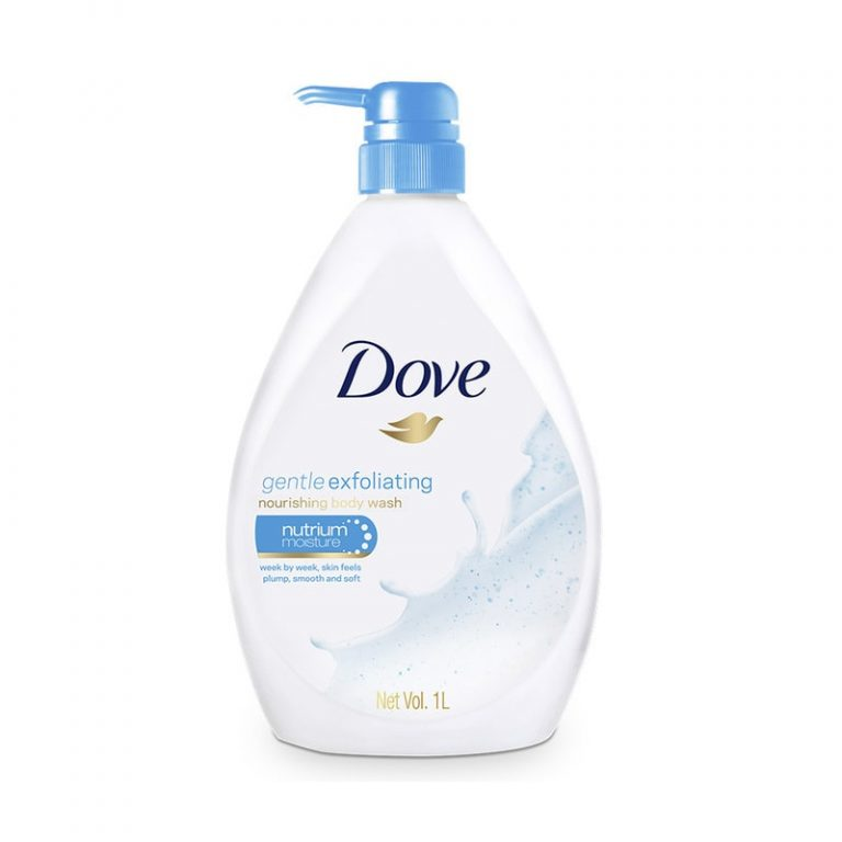 Dove Gentle Exfoliating Nutrium Moisture Body Wash