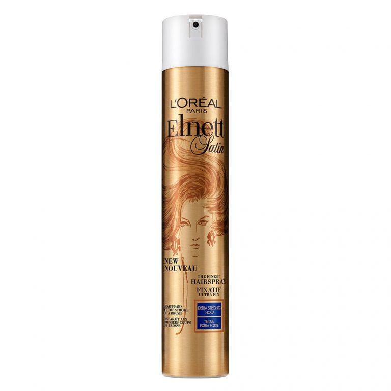 L Oréal Paris Elnett Satin Extra Strong Hold Hairspray
