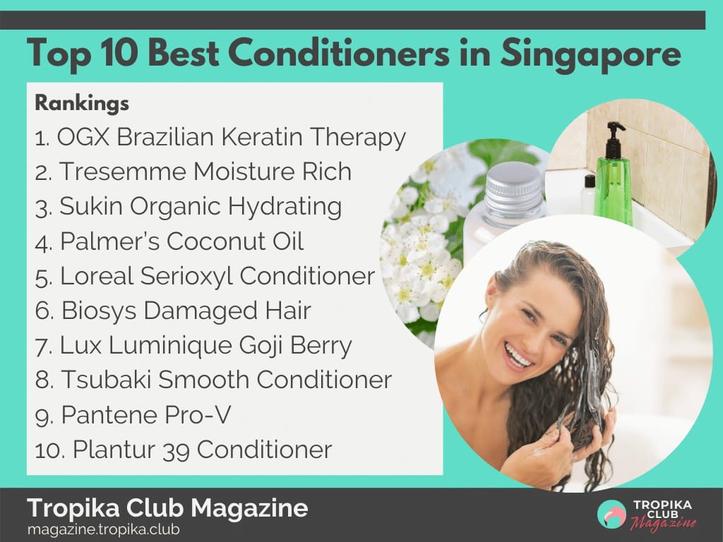 Top 10 Best Conditioners in Singapore