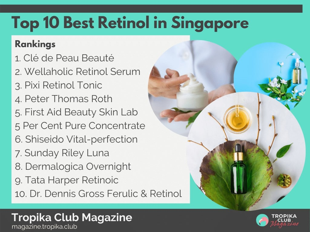 Top 10 Best Retinol in Singapore
