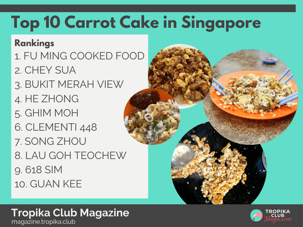 Top 10 Carrot Cake in Singapore