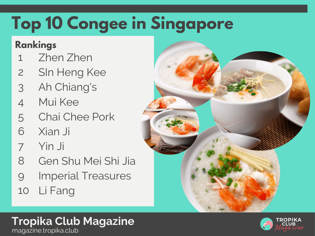 Top 10 Congee in Singapore