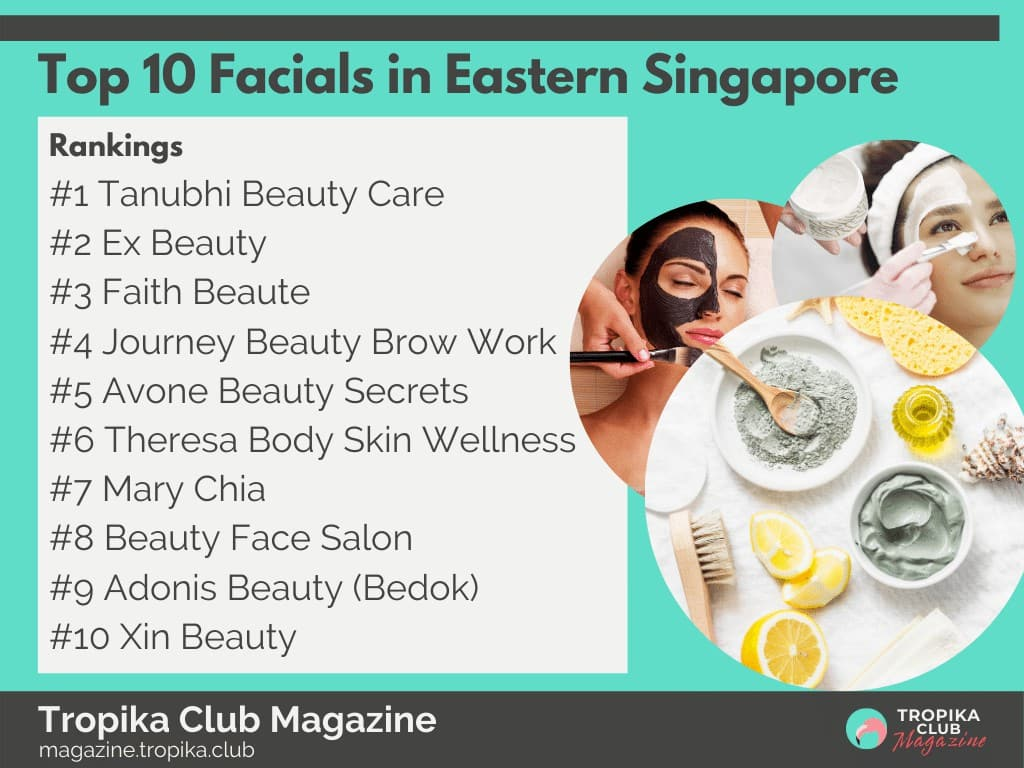 Top 10 Facials in Eastern Singapore