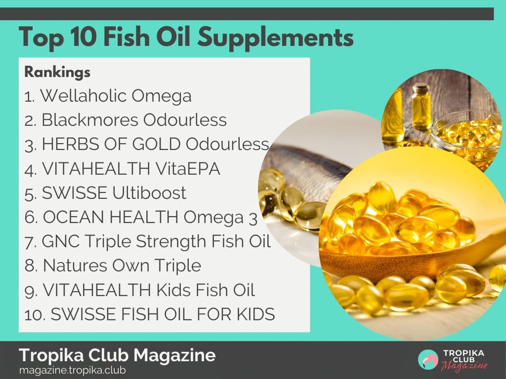 Top 10 Fish Oil Supplements