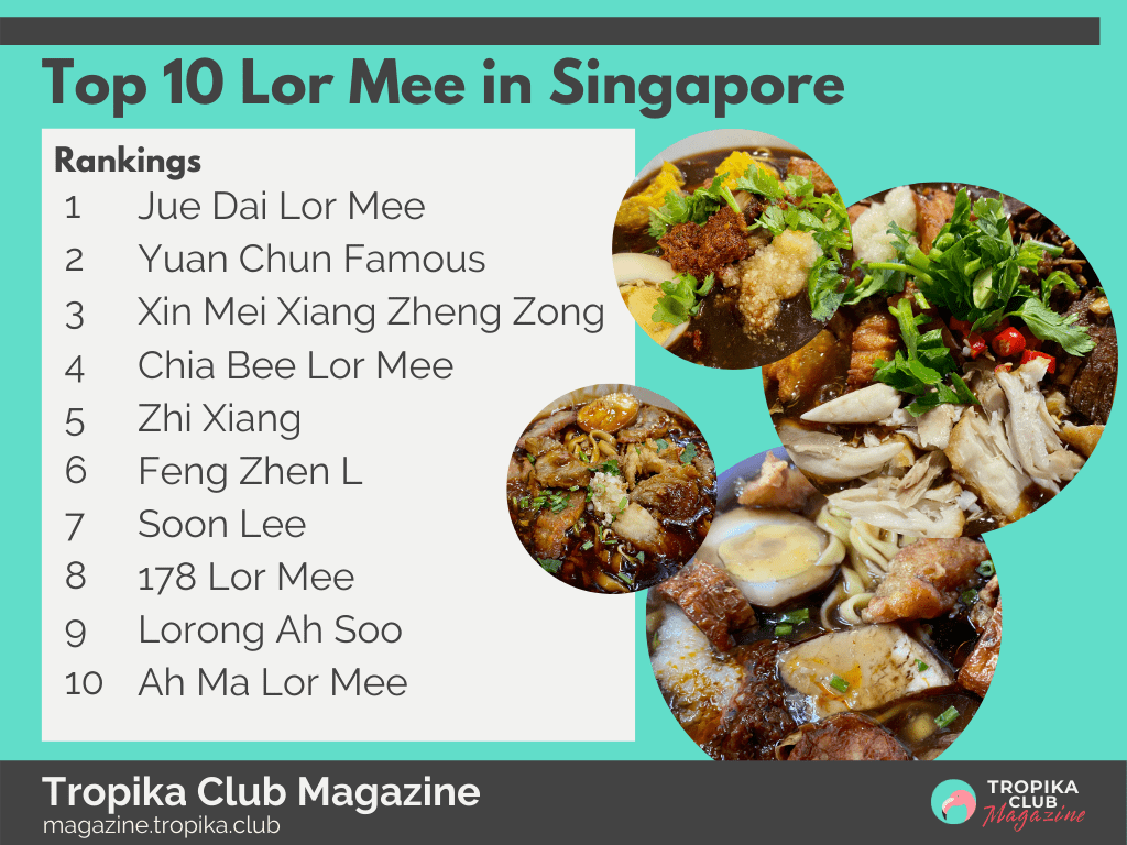 Top 10 Lor Mee in Singapore