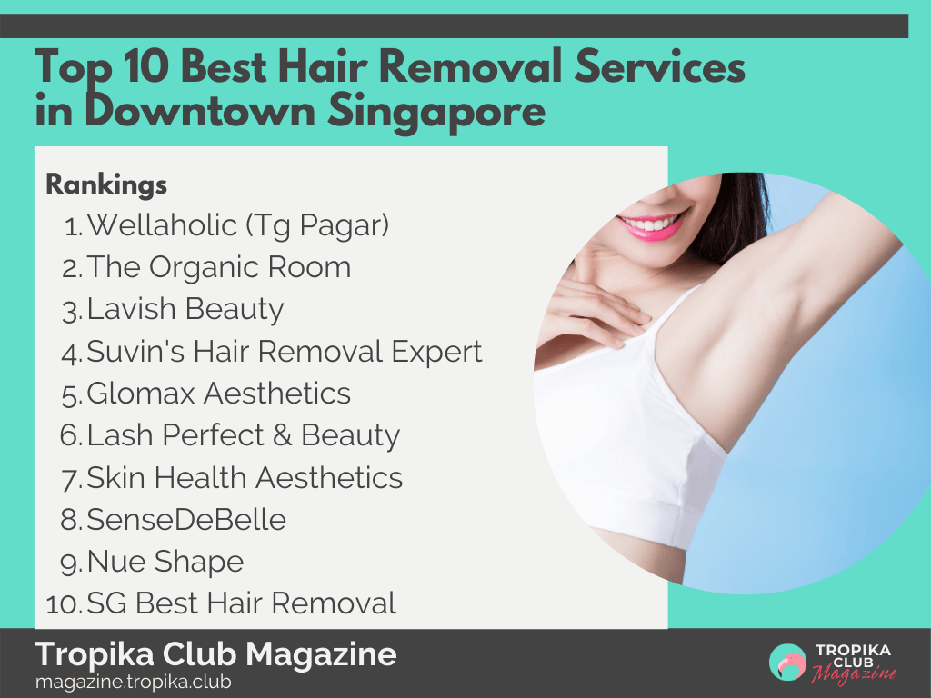 Top 10 Best Hair Removal Services in Downtown Singapore