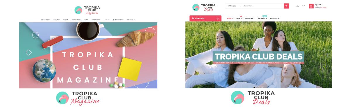 Tropika Club Magazine and Tropika Club Deals