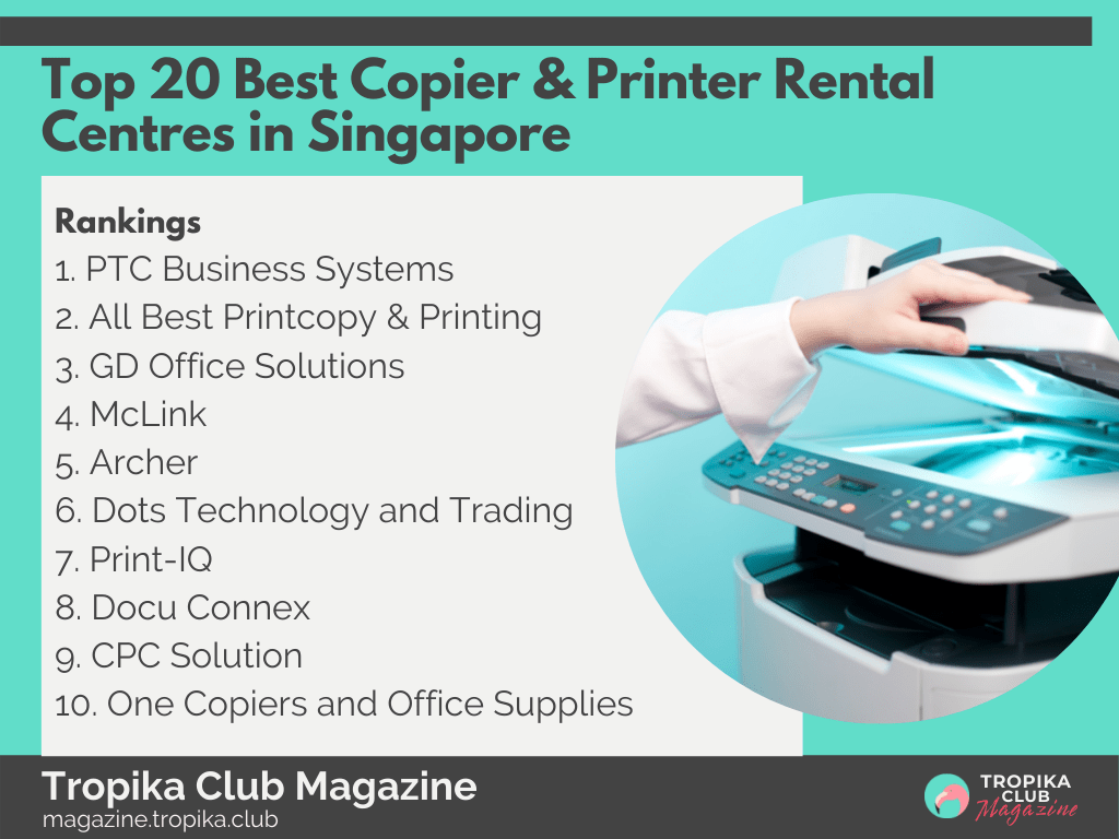 2021 Tropika Magazine Image Snippet - Top 20 Best Copier & Printer Rental Centres in Singapore