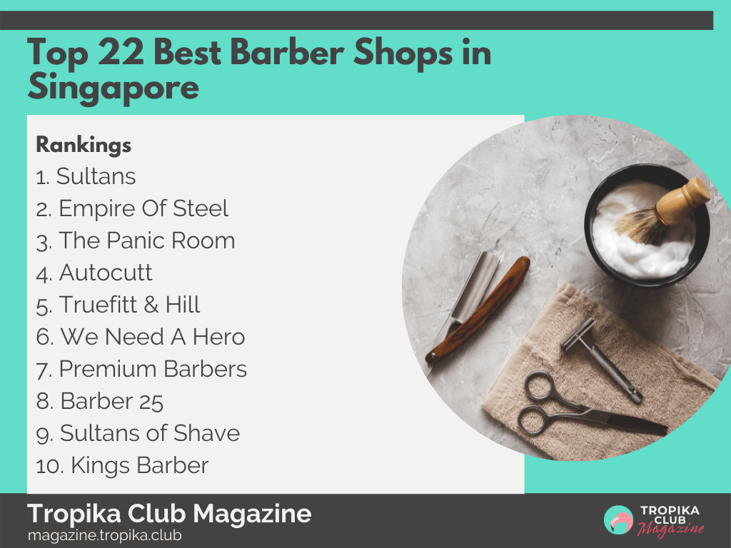 2021 Tropika Magazine Image Snippet - Top 22 Best Barber Shops in Singapore