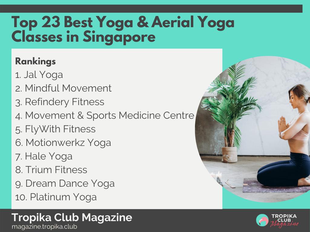 2021 Tropika Magazine Image Snippet - Top 23 Best Yoga & Aerial Yoga Classes in Singapore
