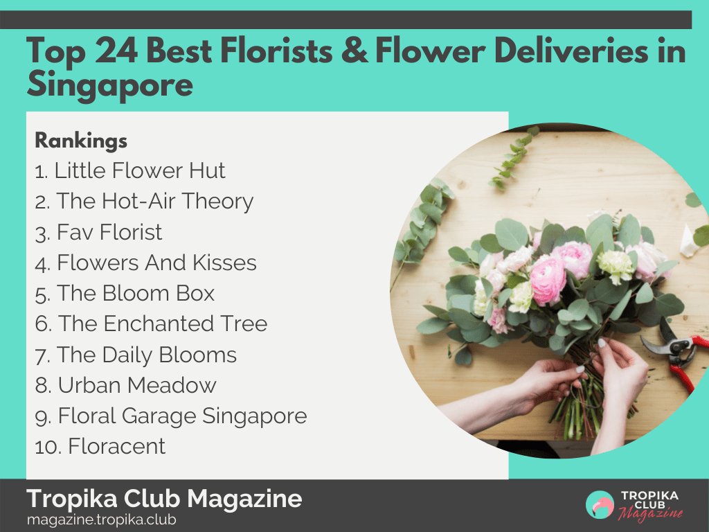 2021 Tropika Magazine Image Snippet - Top 24 Best Florists & Flower Deliveries in Singapore