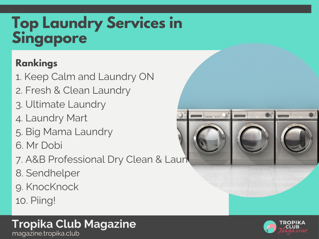 2021 Tropika Magazine Image Snippet - Top Laundry Services in Singapore