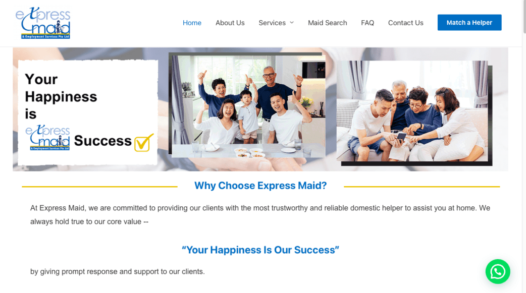 express maid agency - best maid agencies in singapore