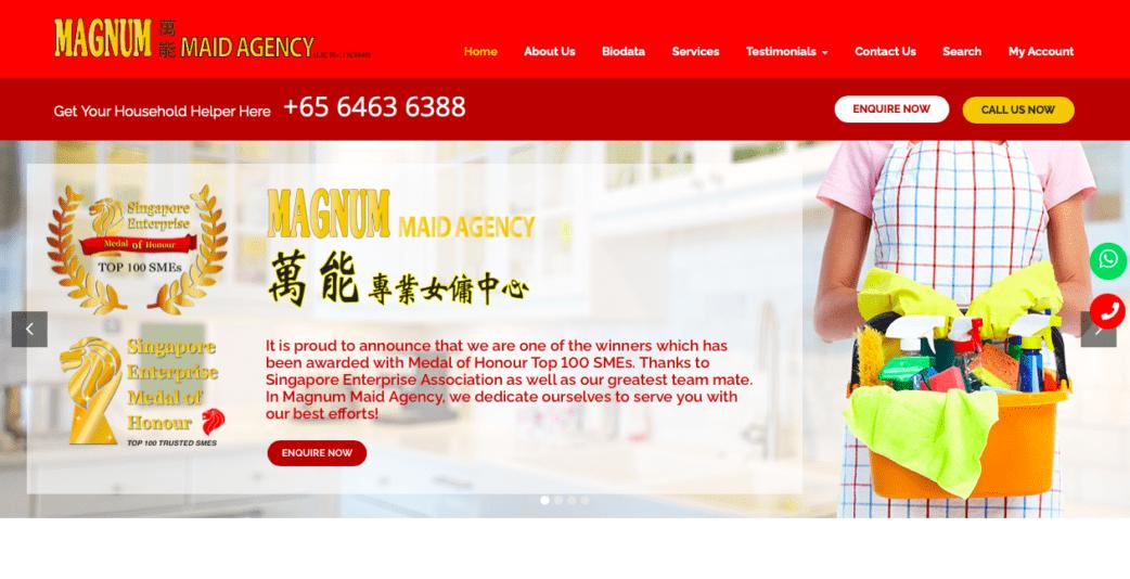 magnum maid agency singapore - best maid agencies in singapore