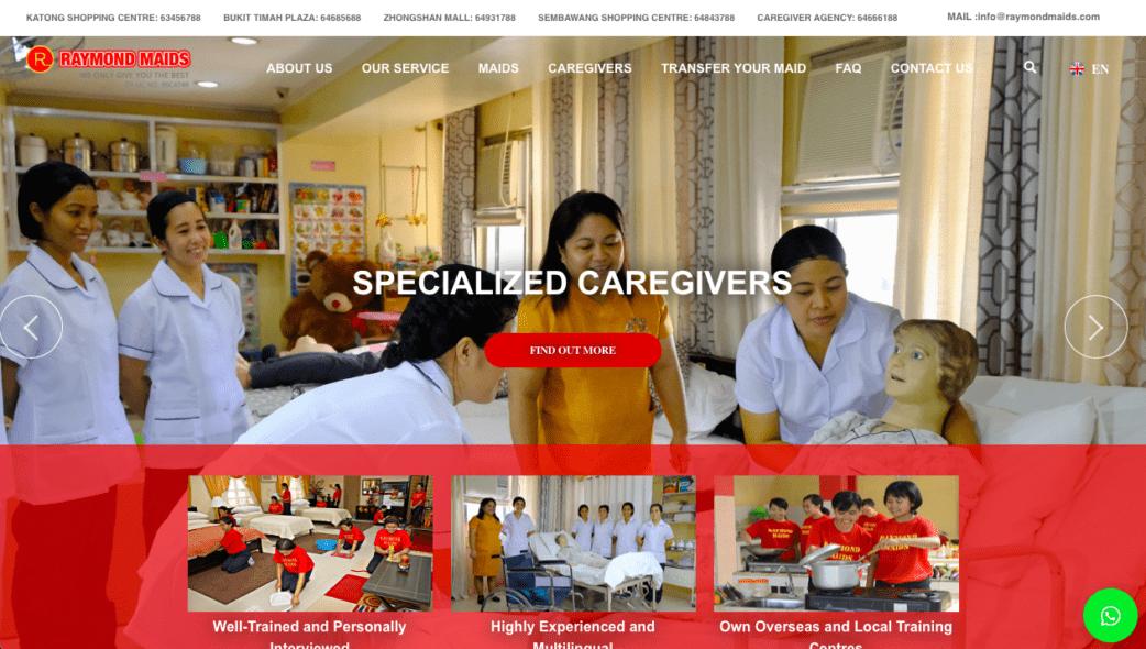 Raymond maid agency - best maid agencies in singapore