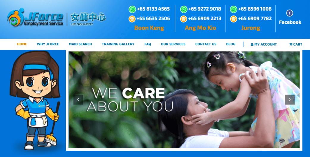 jforce employment - best maid agencies in singapore